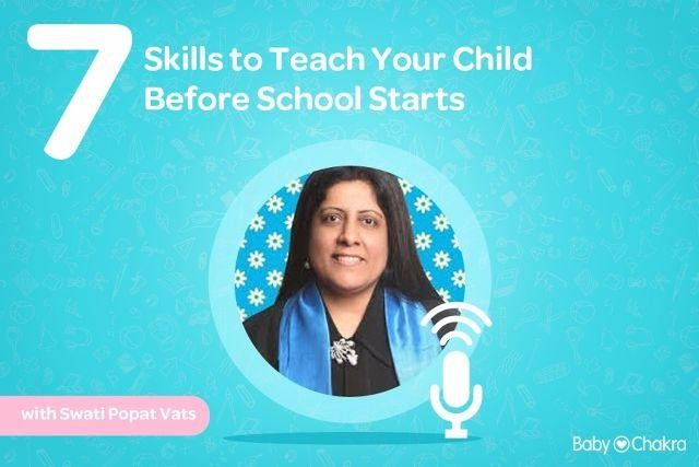 7 Skills to Teach Your Child Before School Starts