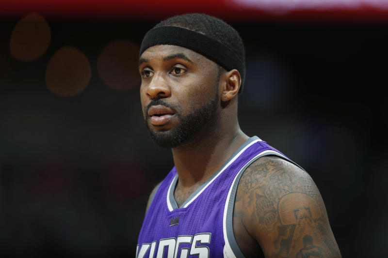 Ty Lawson in a Kings jersey.