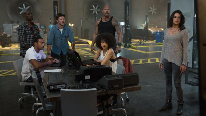 The Fate of the Furious vin diesel universal