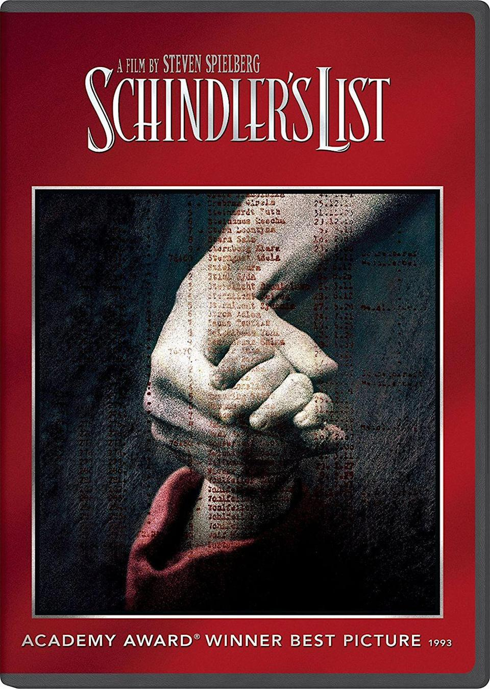 """<p><a class=""""link rapid-noclick-resp"""" href=""""https://www.amazon.com/Schindlers-List-Liam-Neeson/dp/B00B0U2SFE/?tag=syn-yahoo-20&ascsubtag=%5Bartid%7C10067.g.15907978%5Bsrc%7Cyahoo-us"""" rel=""""nofollow noopener"""" target=""""_blank"""" data-ylk=""""slk:Watch Now"""">Watch Now</a> </p><p>Businessman and Nazi party member Oskar Schindler works to save innocent lives and protect the Jewish workers that staff his factory during World War II.<br></p>"""