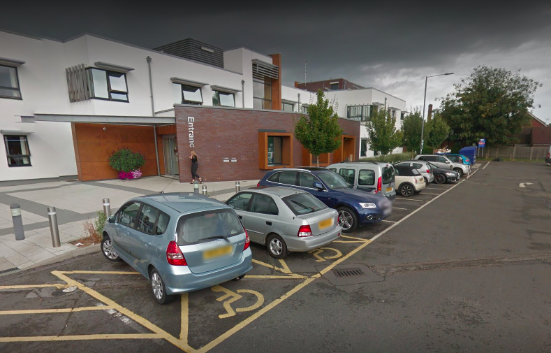 A boy was allegedly assaulted outside Cranleigh Medical Practice in Surrey. (Google)