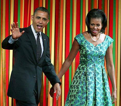 """Michelle Obama: Barack and I """"Work Out Together Every Day"""""""
