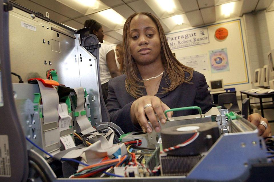 <p>A Chicago-area high school student participated in a paid summer program to be trained as an IT professional.</p>