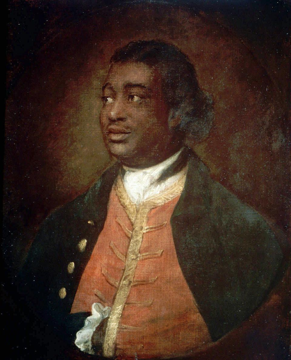 Ignatius Sancho in a painting dated 1768 by Thomas Gainsborough (Photo: ASSOCIATED PRESS)