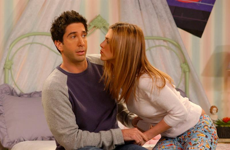 Awkward: David Schwimmer is yet to respond to the offer: Channel 4