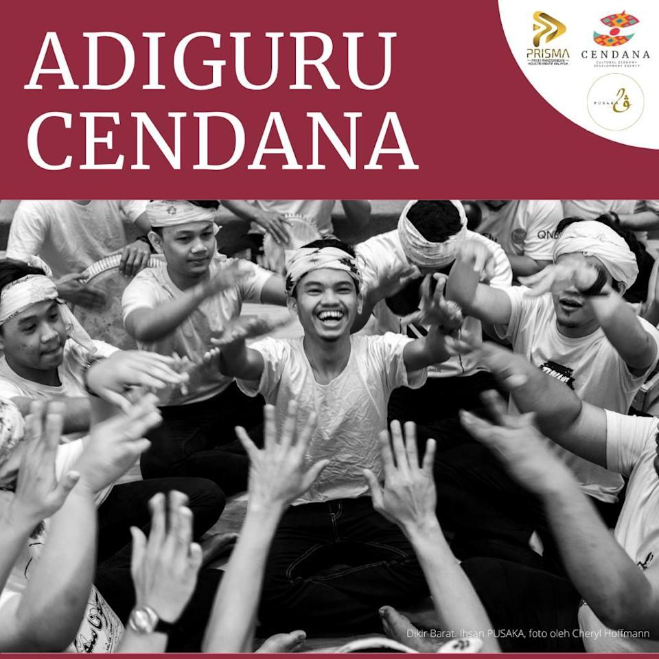 Adiguru Cendana Programme is focused to support artists in specialised areas such as oral traditions, music, dance, theatre, storytelling, visual arts and craft.  —  Picture courtesy of Cendana