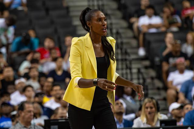 Lisa Leslie (Photo by John Jones/Icon Sportswire via Getty Images)