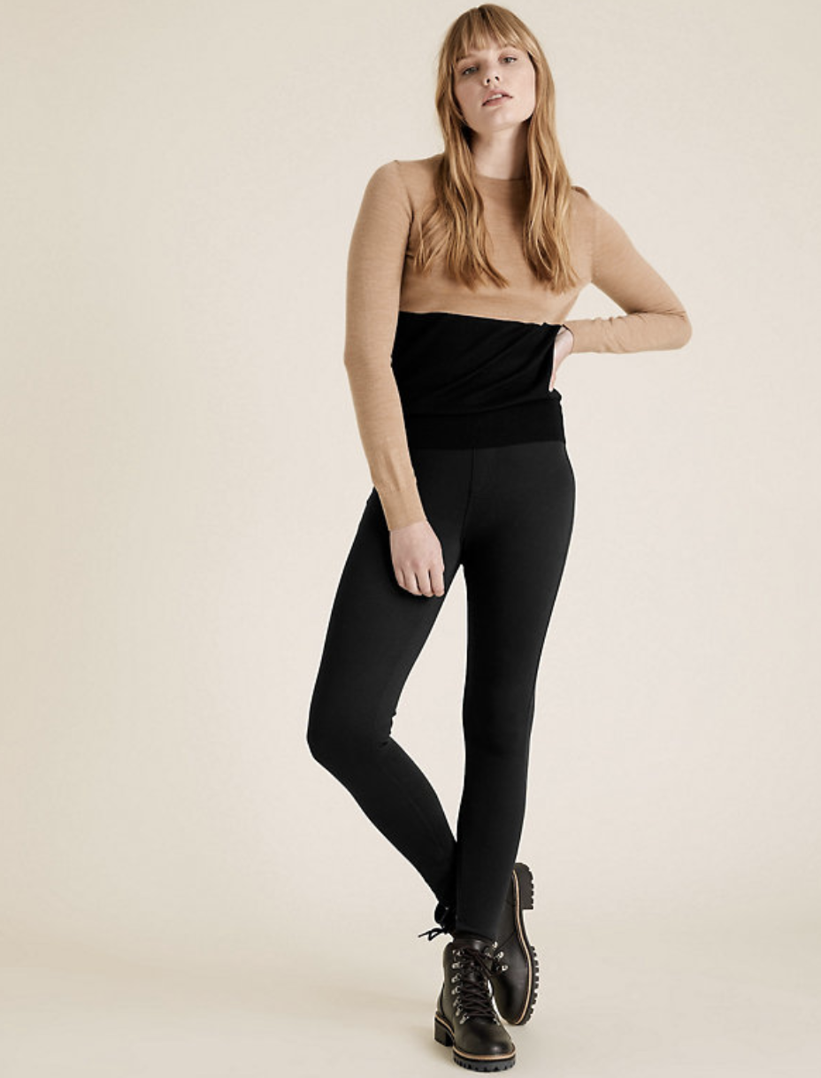 M&S has launched a new pair of cosy jeggings. (Marks & Spencer)