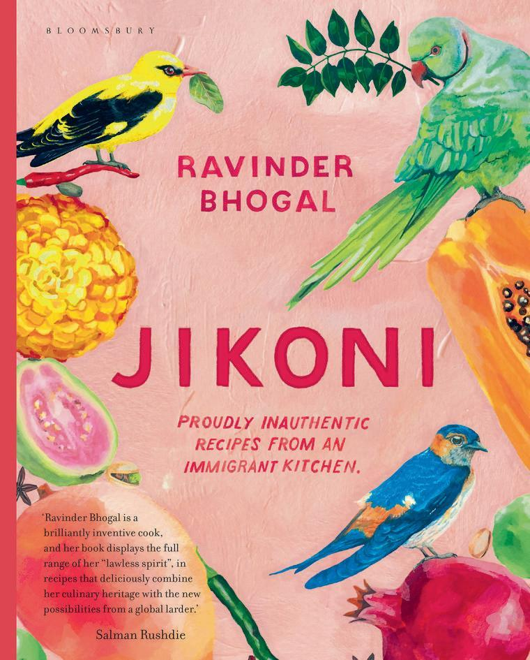"<p>The chef Ravinder Bhogal's debut cookbook Jikoni, which shares its name with her much-loved Marylebone restaurant, is full of tempting recipes whose fusion of flavours is inspired by the regional home cooking of Bhogal's Indian ancestors, by seasonal and local ingredients, and by the people she has encountered throughout her life. Among these 'border-blending dishes', to use Bhogal's own term, are her cauliflower popcorn with black vinegar dipping sauce, her prawn toast Scotch eggs with banana ketchup, and her duck and pistachio pierogi with hot yoghurt sauce and pul biber butter – the latter celebrating three different culinary traditions; French, Polish and Turkish. </p><p><a href=""https://www.amazon.co.uk/Jikoni-Proudly-Inauthentic-Recipes-Immigrant/dp/1526601443/ref=sr_1_1?dchild=1&keywords=jikoni&qid=1604168424&sr=8-1"" rel=""nofollow noopener"" target=""_blank"" data-ylk=""slk:'Jikoni: Proudly Inauthentic Recipes from an Immigrant Kitchen'"" class=""link rapid-noclick-resp"">'Jikoni: Proudly Inauthentic Recipes from an Immigrant Kitchen'</a> by Ravinder Bhogal (£26, Bloomsbury) is out now.</p>"