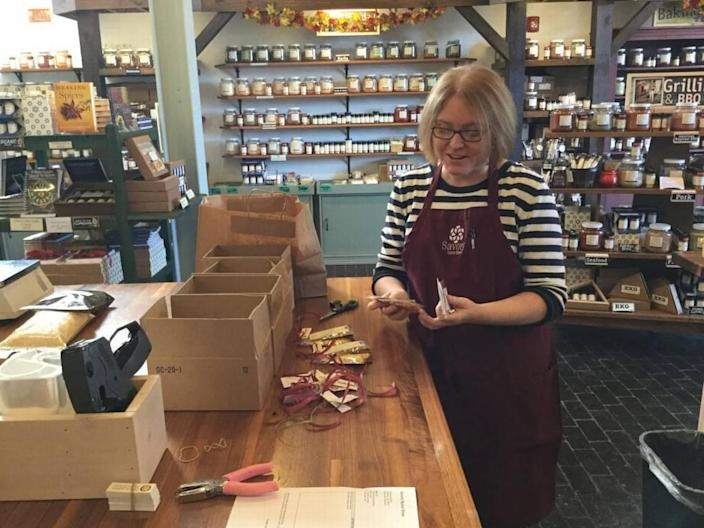 Savory Spice Shop, located in Atherton Mill at 2000 South Blvd., celebrates Small Business Saturday.