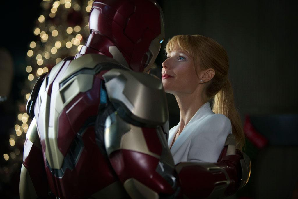 "Robert Downey Jr. and Gywneth Paltrow in Marvel Studios' ""Iron Man 3"" - 2013"