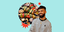 """<p><a href=""""https://www.delish.com/uk/food-news/g35793758/best-gas-bbq-barbecues/"""" rel=""""nofollow noopener"""" target=""""_blank"""" data-ylk=""""slk:BBQ"""" class=""""link rapid-noclick-resp"""">BBQ</a> season is finally upon us! And this year more than ever, do we need some excellent outdoor get-togethers?! For a lot of people, <a href=""""https://www.delish.com/uk/food-news/g35793932/best-portable-bbq-barbecues/"""" rel=""""nofollow noopener"""" target=""""_blank"""" data-ylk=""""slk:BBQs"""" class=""""link rapid-noclick-resp"""">BBQs</a> mean beef burgers, hot dogs and chicken wings, but <a href=""""https://www.delish.com/uk/food-news/g35265495/vegan-food-boxes/"""" rel=""""nofollow noopener"""" target=""""_blank"""" data-ylk=""""slk:vegan"""" class=""""link rapid-noclick-resp"""">vegan</a> <a href=""""https://www.delish.com/uk/food-news/g35793922/best-charcoal-bbq-barbecues/"""" rel=""""nofollow noopener"""" target=""""_blank"""" data-ylk=""""slk:BBQs"""" class=""""link rapid-noclick-resp"""">BBQs</a> are becoming more and more popular as people choose to get stuck into plant-based diets. </p><p>To make sure you have the best <a href=""""https://www.delish.com/uk/kitchen-accessories/g28887048/best-vegan-cookbooks/"""" rel=""""nofollow noopener"""" target=""""_blank"""" data-ylk=""""slk:vegan"""" class=""""link rapid-noclick-resp"""">vegan</a> <a href=""""https://www.delish.com/uk/cooking/recipes/g35979556/bbq-sides/"""" rel=""""nofollow noopener"""" target=""""_blank"""" data-ylk=""""slk:BBQ"""" class=""""link rapid-noclick-resp"""">BBQ</a> of your life, we've joined forces with <a href=""""https://www.instagram.com/avantgardevegan/?hl=en"""" rel=""""nofollow noopener"""" target=""""_blank"""" data-ylk=""""slk:Gaz Oakley"""" class=""""link rapid-noclick-resp"""">Gaz Oakley</a>. The YouTube superstar chef has given us his tips and <a href=""""https://www.delish.com/uk/food-news/g35031424/vegan-cooking-mistakes/"""" rel=""""nofollow noopener"""" target=""""_blank"""" data-ylk=""""slk:vegan"""" class=""""link rapid-noclick-resp"""">vegan</a> <a href=""""https://www.delish.com/uk/food-news/a35934592/aldi-bbq-range/"""" rel=""""nofollow noopener"""" target=""""_blank"""" data-ylk=""""slk:BBQ"""" class=""""link rapid-noc"""