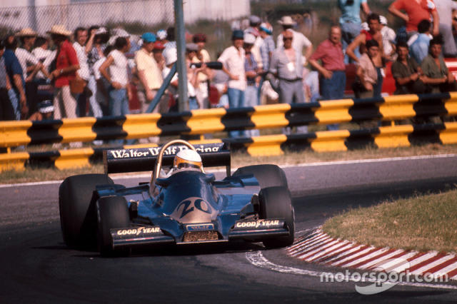 """Jody Scheckter, Wolf WR1 Ford <span class=""""copyright"""">LAT Images</span>"""