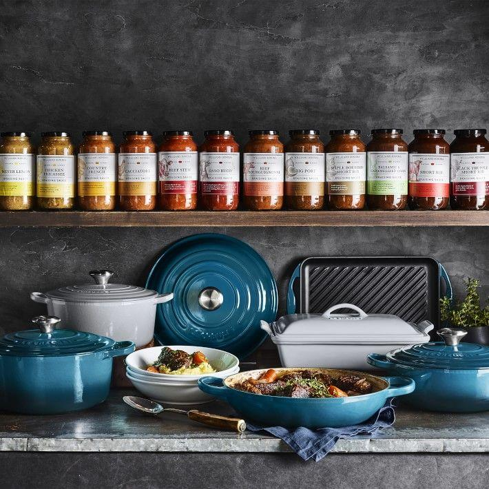 """<p>If you've been looking for an excuse to get your hands on some Le Creuset cookwre, now is a better time than ever with the <a href=""""https://www.williams-sonoma.com/pages/premier-event/?cm_re=hphero-_-default-_-shop_premier"""" target=""""_blank"""">Williams Sonoma One-Day Warehouse Sale</a>. Whether you're a diehard member of the Le Creuset cult, or a first-timer waiting for the perfect opportunity to shop, you can score up to $150 off.<br></p>"""