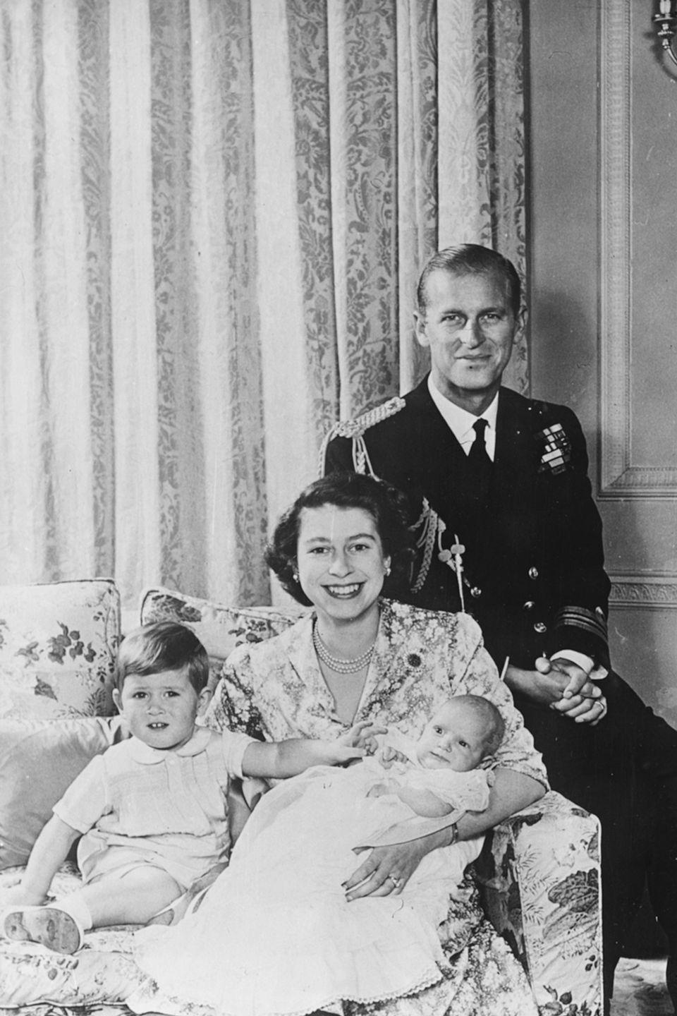 """<p>Up until the early 20th century, royal babies actually had <a href=""""https://www.royal.uk/royal-family-name"""" rel=""""nofollow noopener"""" target=""""_blank"""" data-ylk=""""slk:no last name at all"""" class=""""link rapid-noclick-resp"""">no last name at all</a>. Instead, they were known by the names of the county of which they ruled.</p>"""