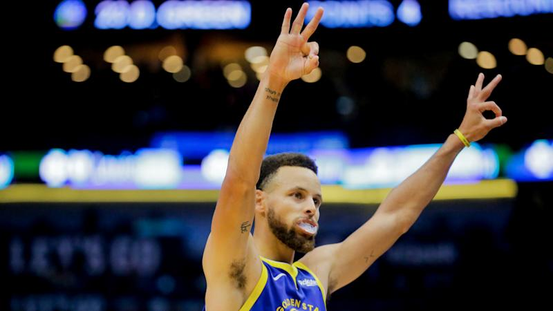 Warriors' Steph Curry is top leader in sports, Stephen A. Smith says