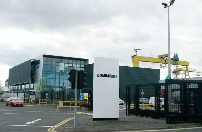 Bombardier employs thousands of people in Belfast (Picture: PA)