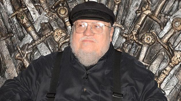 "George R.R. Martin attends the Academy of Television Arts & Sciences an evening with HBO's ""Game Of Thrones"" at TCL Chinese Theatre on March 19, 2013 in Hollywood, California."