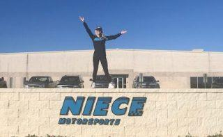 Decker joins Niece Motorsports after competing in 19 races last season for DGR Crosley. Photo: Niece Motorsports.