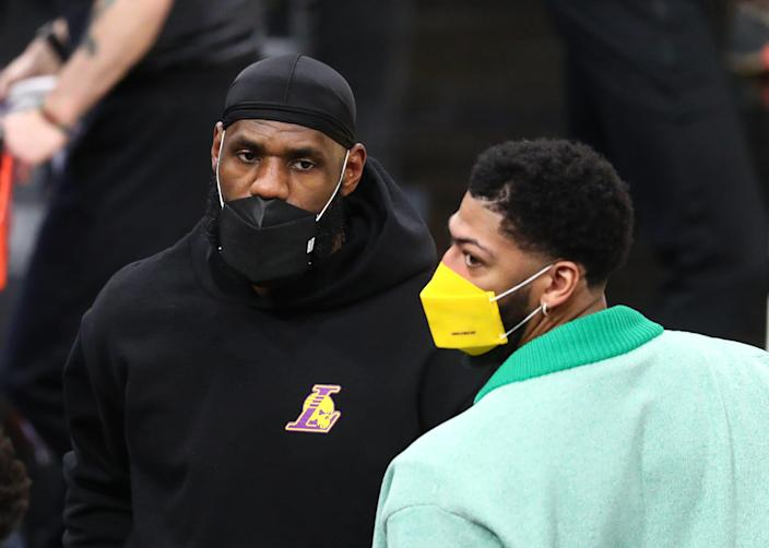 With LeBron James and Anthony Davis out of the lineup, the Lakers have fallen to No. 5 in the Western Conference playoff race.
