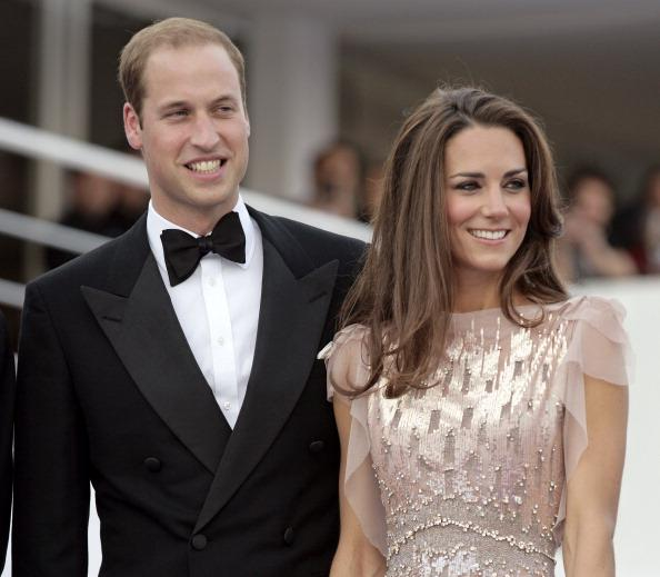 LONDON, UNITED KINGDOM - JUNE 09: (EMBARGOED FOR PUBLICATION IN UK NEWSPAPERS UNTIL 48 HOURS AFTER CREATE DATE AND TIME) Prince William, Duke of Cambridge and Catherine, Duchess of Cambridge attend the ARK 10th Anniversary Gala Dinner at perk's Field on June 9, 2011 in London, England. (Photo by Indigo/Getty Images)