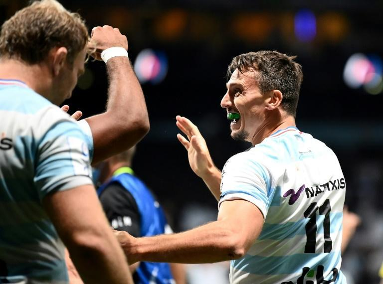 Juan Imhoff celebrates his match-winning try