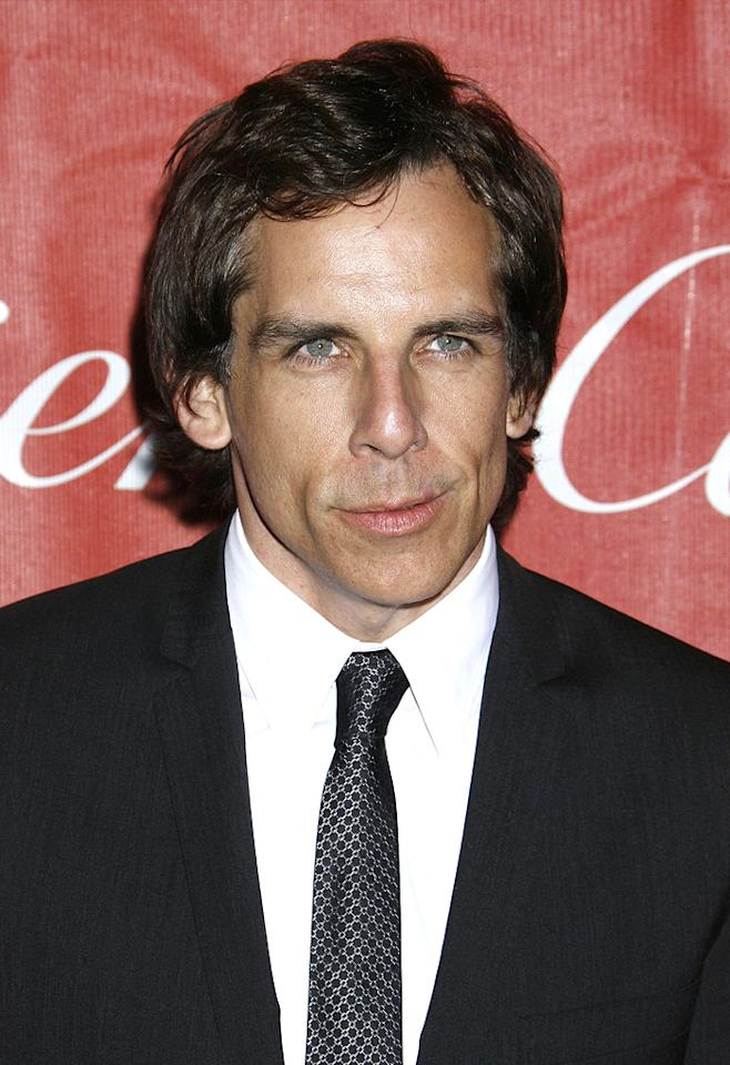 """<a href=""""http://movies.yahoo.com/movie/contributor/1800019193"""">Ben Stiller</a> at the 20th Annual Palm Springs Film Festival Gala - 01/06/2009"""
