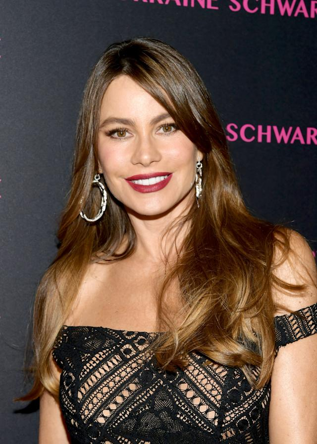 Sofia Vergara was once a blond model living in Miami. (Photo: Emma McIntyre/Getty Images for Lorraine Schwartz )