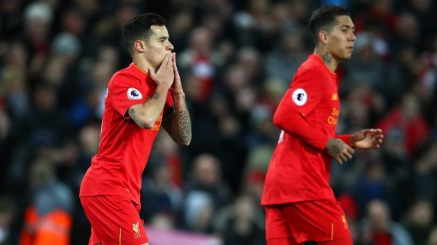 <p>Coutinho becomes highest-scoring Brazilian in Premier League history</p>
