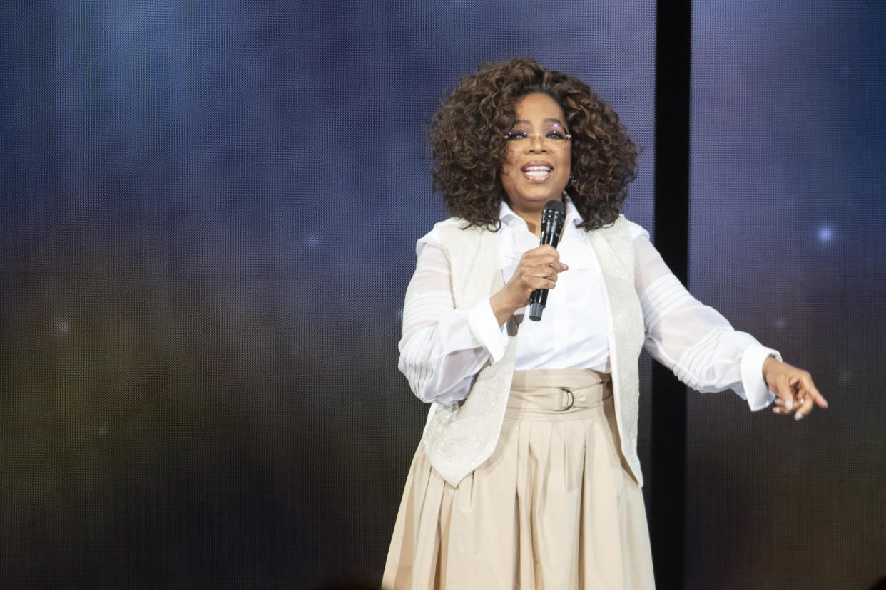 After Winfrey criticized his lyrics, Jackson reacted by antagonizing her. (Photo: Tom Cooper/Getty Images)