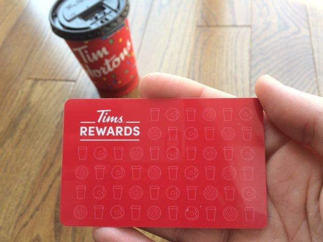 Tim Hortons has launched its own rewards program for customers.