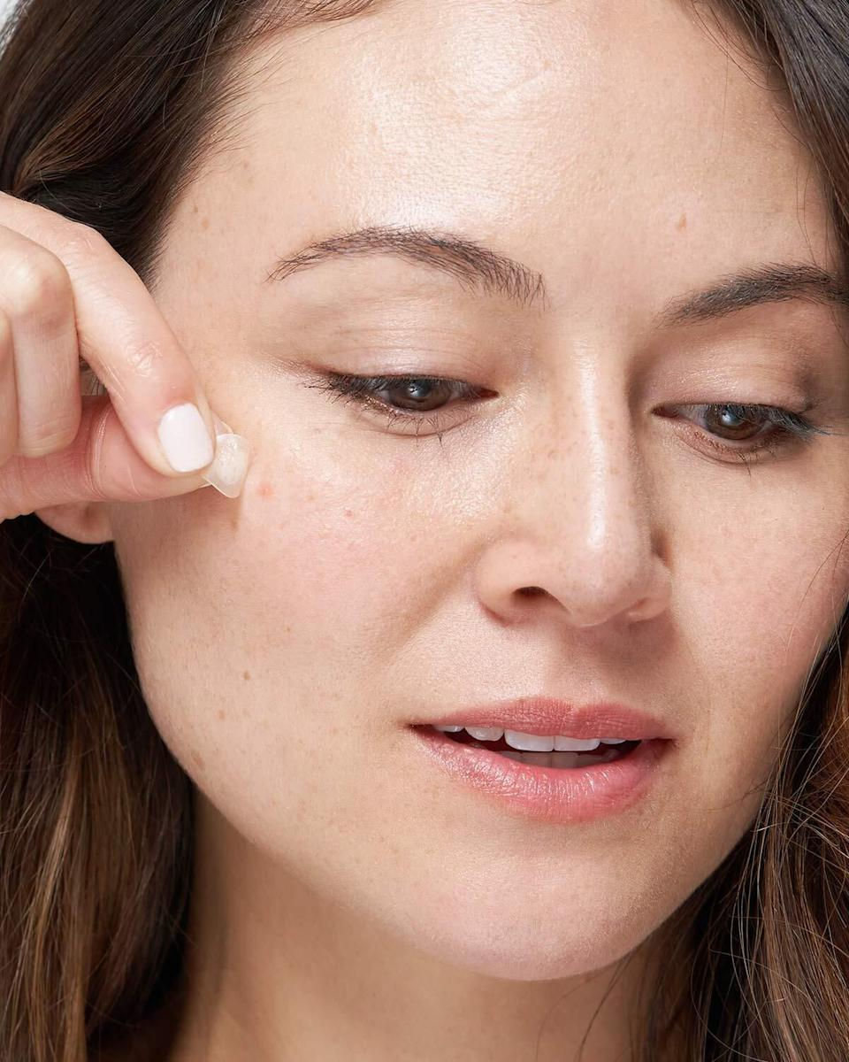 """These babies suck nasty gunk out of your zits overnight, so you can wake up with clearer skin and avoid popping pimples.<br /><br /><strong>Promising review:</strong>""""I do not claim to understand the science behind this tiny miracles, but they have changed my life. <strong>I spent my workday looking forward to going home and putting one of these bad boys on my newly erupted Mt. Zit and the overnight results were shocking.</strong> Not only is it grossly satisfying, but it saved me several days of walking around with a bloody crater in my face because my previous method of dealing with unsightly blemishes was to pick, pick and pick."""" —<a href=""""https://amzn.to/3eBKZ50"""" target=""""_blank"""" rel=""""nofollow noopener noreferrer"""" data-skimlinks-tracking=""""5582326"""" data-vars-affiliate=""""Amazon"""" data-vars-href=""""https://www.amazon.com/gp/customer-reviews/R1P74RQ4NK5D3E?tag=bfjasmin-20&ascsubtag=5582326%2C11%2C25%2Cmobile_web%2C0%2C0%2C0"""" data-vars-keywords=""""cleaning,fast fashion,skincare"""" data-vars-link-id=""""0"""" data-vars-price="""""""" data-vars-retailers=""""Amazon"""">Amazon Customer<br /><br /></a><strong>Get a pack of 36 patches from Amazon for<a href=""""https://amzn.to/3tzecSn"""" target=""""_blank"""" rel=""""nofollow noopener noreferrer"""" data-skimlinks-tracking=""""5582326"""" data-vars-affiliate=""""Amazon"""" data-vars-asin=""""B074PVTPBW"""" data-vars-href=""""https://www.amazon.com/dp/B074PVTPBW?tag=bfjasmin-20&ascsubtag=5582326%2C11%2C25%2Cmobile_web%2C0%2C0%2C1148899"""" data-vars-keywords=""""cleaning,fast fashion,skincare"""" data-vars-link-id=""""1148899"""" data-vars-price="""""""" data-vars-product-id=""""15919439"""" data-vars-product-img=""""https://m.media-amazon.com/images/I/41uZy+Vpr2L._SL500_.jpg"""" data-vars-product-title=""""Mighty Patch Original - Hydrocolloid Acne Pimple Patch Spot Treatment (36 count) for Face, Vegan, Cruelty-Free…"""" data-vars-retailers=""""Amazon"""">$12.50</a>.</strong>"""