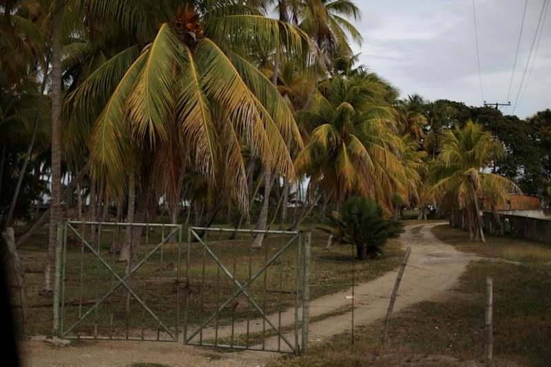 A view of a trail taken by migrants, in Guiria, Venezuela, on May 24. (Photo: Ivan Alvarado/Reuters)