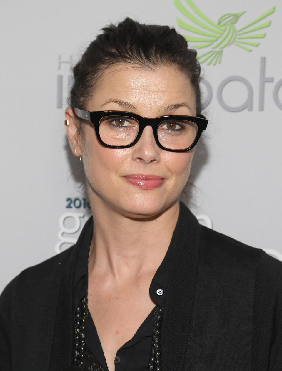 <p>Actress Bridget Moynahan attends the Garden Brunch prior to the 102nd White House Correspondents' Dinner, April 30. <i>(Photo: Paul Morigi/WireImage)</i></p>