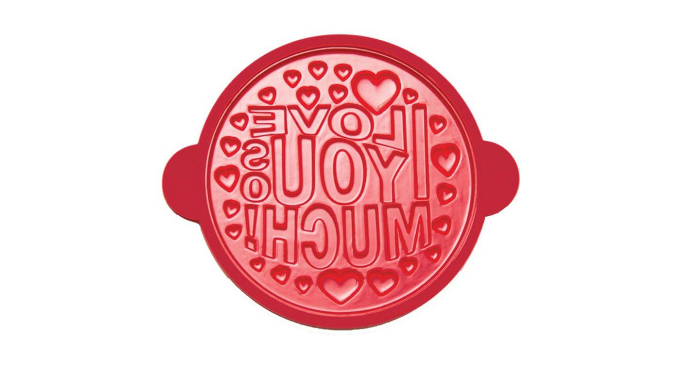 I Love You So Much Silicone Pancake Mould