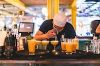 """<p><strong>Happy hour deal:</strong></p><p>Every day until 6pm, The Rum Kitchen has reduced prices for some of their cocktails, like their Jamrock Punch (£7) and Jamaican Mule (£5.95).</p><p>Find out more <a href=""""https://therumkitchen.com/"""" rel=""""nofollow noopener"""" target=""""_blank"""" data-ylk=""""slk:here"""" class=""""link rapid-noclick-resp"""">here</a>. </p><p><a href=""""https://www.instagram.com/p/CQ0wZZFAhEg/"""" rel=""""nofollow noopener"""" target=""""_blank"""" data-ylk=""""slk:See the original post on Instagram"""" class=""""link rapid-noclick-resp"""">See the original post on Instagram</a></p>"""