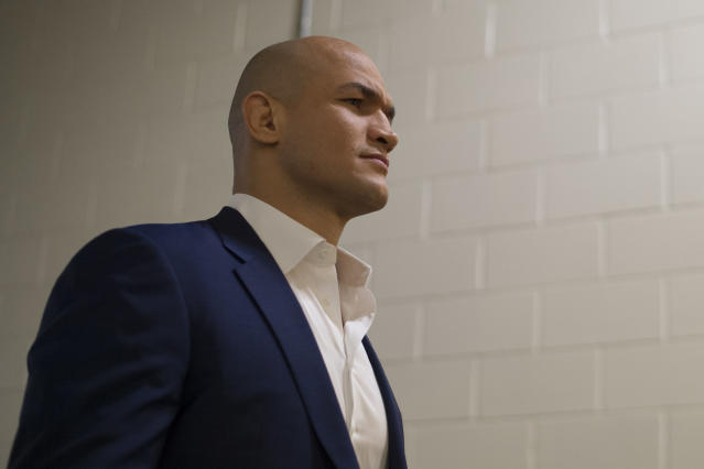Junior dos Santos is immediately eligible to fight after USADA discovered he had taken a tainted supplement. (Getty)