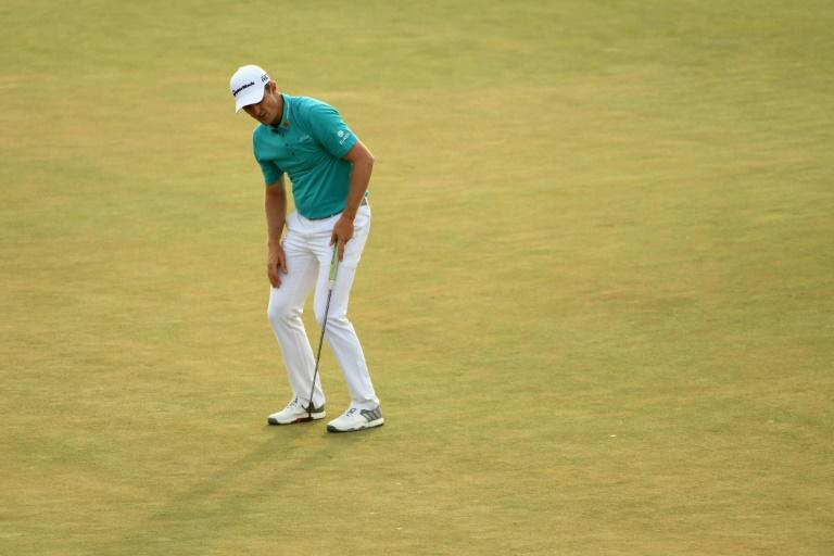 Justin Rose had three bogeys in a row at eight, nine and 10 and bogeyed two of his last three to come in with a 73 that left him alone in fifth on 214