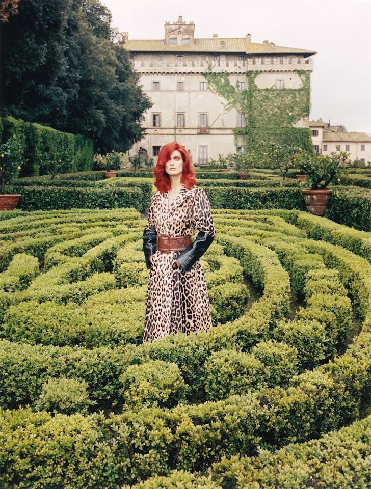 Photograph by Venetia Scott for W Magazine, August 2014.