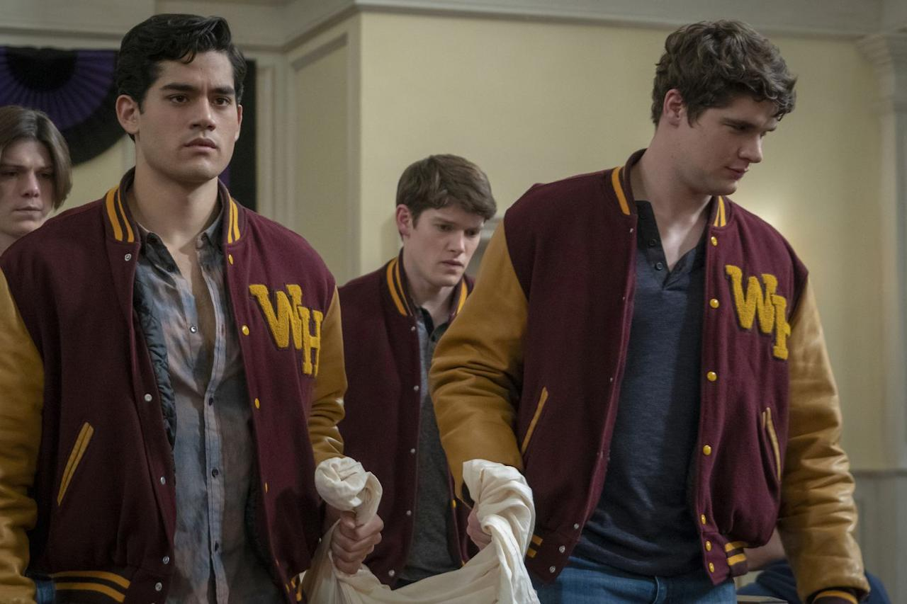 "<p>Netflix's <em>The Society </em>is the teen sci-fi drama you didn't know you needed. The 10-episode series hinges on a group of New England high schoolers who suddenly find themselves without parents and must establish a brand-new society. As we know from<em> Lord of the Flies</em>, that can't end well: Everything, predictably, descends into mass chaos (betrayal! murder! coups!), with some shocking apocalyptic consequences. If you like <em>Riverdale</em>, you'll love <em>The Society. -Rose Minutaglio, Staff Writer</em></p><p></p><p><a class=""body-btn-link"" href=""https://www.netflix.com/signup"" target=""_blank"">START YOUR FREE NETFLIX TRIAL NOW</a></p><p></p>"