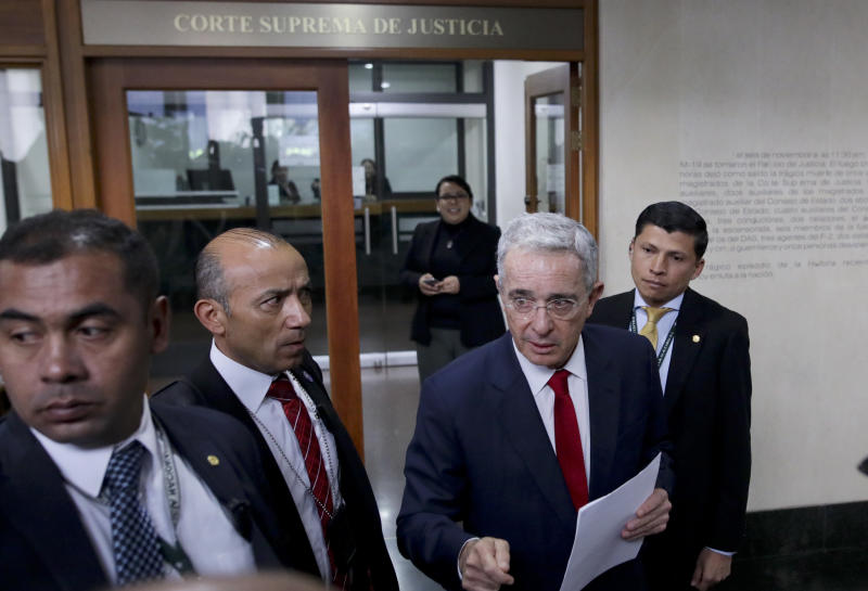 COLOMBIA-URIBE