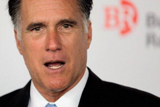 "Republican presidential candidate Mitt Romney kicked off a five-day bus tour, returning to old-school ""traditional"" campaign tactics to bring him face to face with thousands of voters across six states"