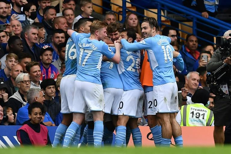 Manchester City beat Chelsea 1-0 to exact revenge for losing last season's Champions League final (AFP/Ben STANSALL)