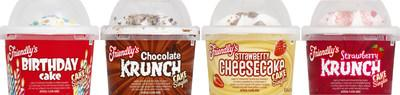 Four Friendly's Cake Singles Flavors
