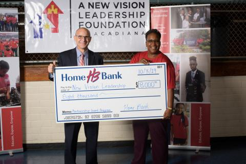 $8K Grant Assists A New Vision Leadership Foundation of Acadiana