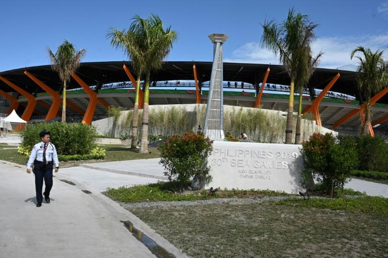 The athletics stadium in New Clark City, north of Manila, is the main hub for the 2019 SEA Games