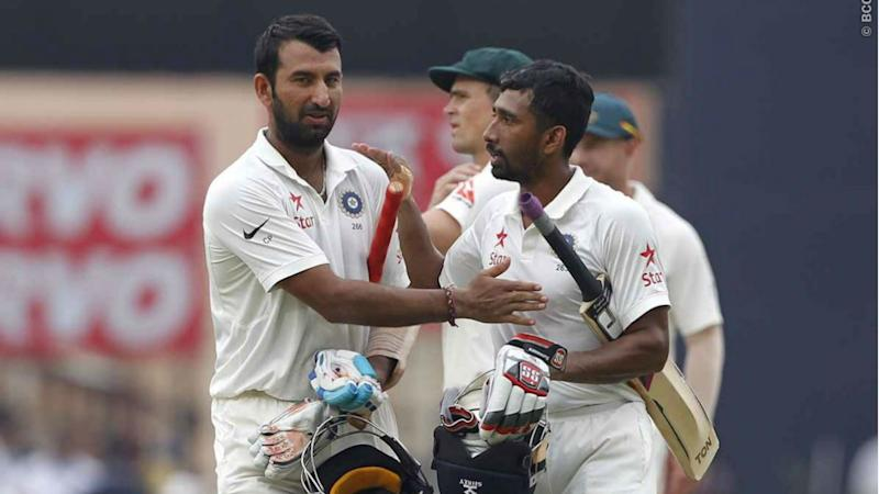 Pujara's record innings puts India in control