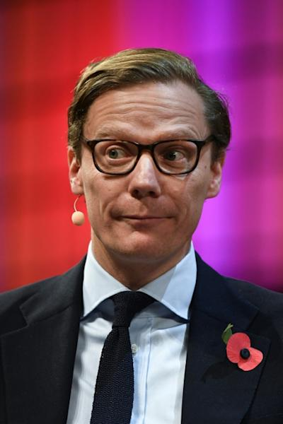 Alexander Nix is chief executive of Cambridge Analytica, which has denied misusing Facebook data for its work on Trump's 2016 campaign