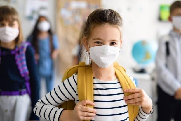 Masks will now be mandatory for all students in kindergarten to Grade 12 in Vancouver. Details on when the new rules will come into effect have yet to be released. (Shutterstock / Halfpoint - image credit)