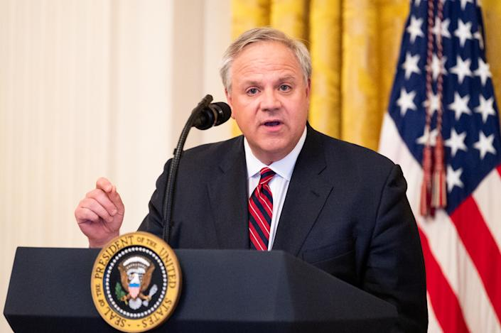 United States Secretary of the Interior David Bernhardt in Washington, DC. (Photo: Michael Brochstein/SOPA Images/LightRocket via Getty Images)